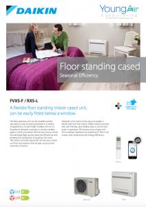 Daikin FVXS Floor Standing Cased
